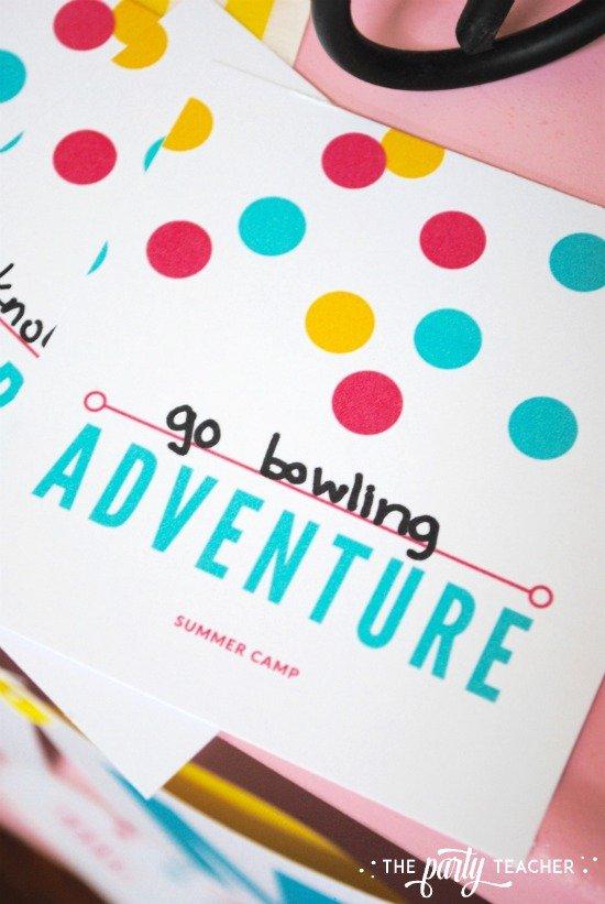 8 weeks of summer fun ideas by The Party Teacher - plan an adventure