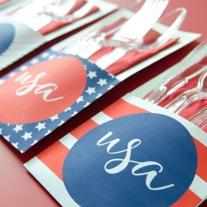 Freebie Friday: 25 4th of July Free Party Printables