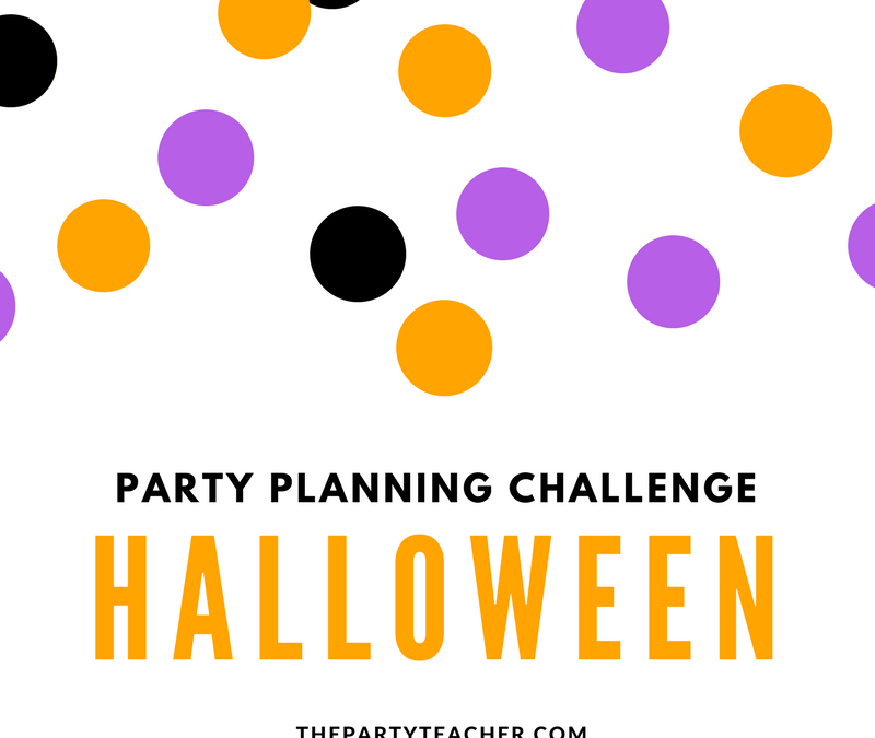 Party Planning Challenge: Halloween Party