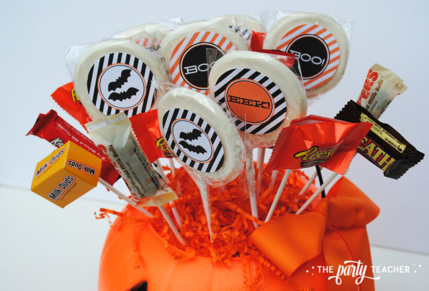 Halloween Candy DIY Centerpiece by The Party Teacher - candy 2
