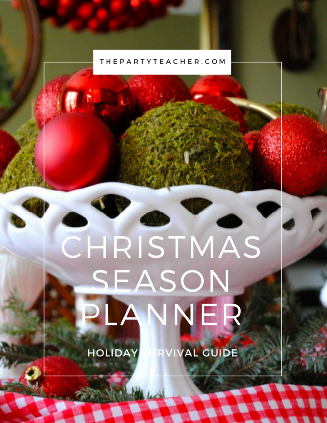 Christmas Season Planner by The Party Teacher