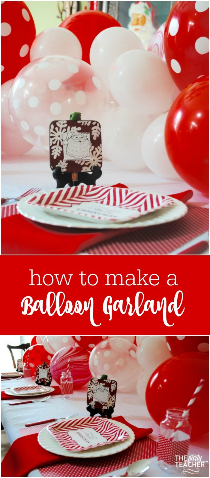 Tutorial How To Make A Balloon Garland The Party Teacher