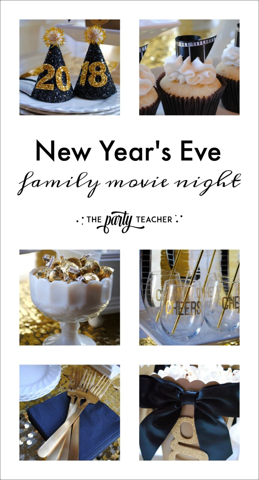 New Year's Eve Family Movie Night by The Party Teacher