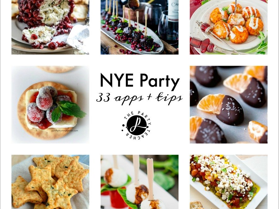 New Year's Eve Party Appetizers