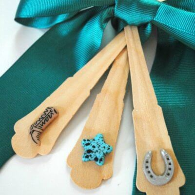 Tutorial: How to decorate party forks