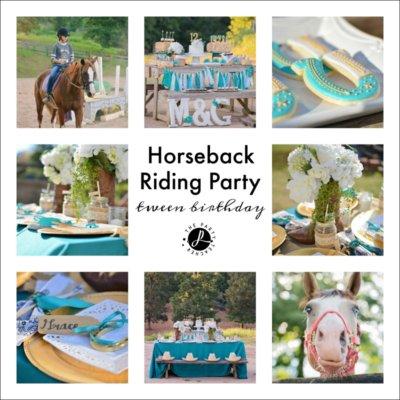 My Parties: Horseback Riding Party