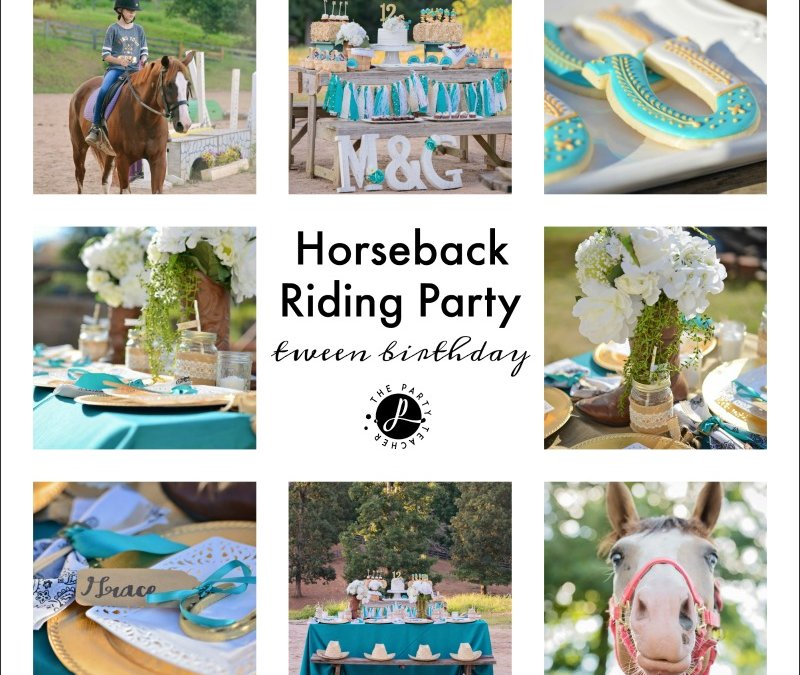My Parties: Horseback Riding Party