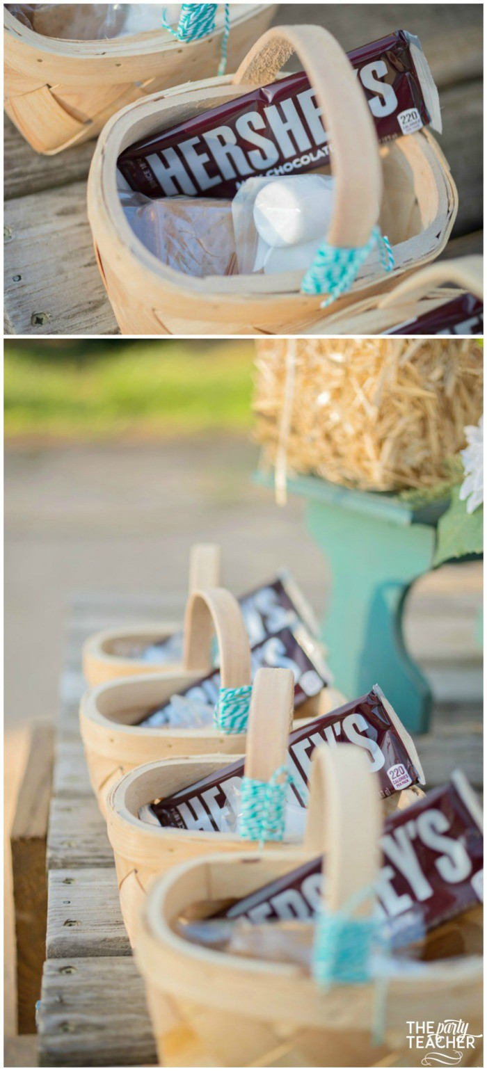 Horseback Riding Party by The Party Teacher - s'mores kits