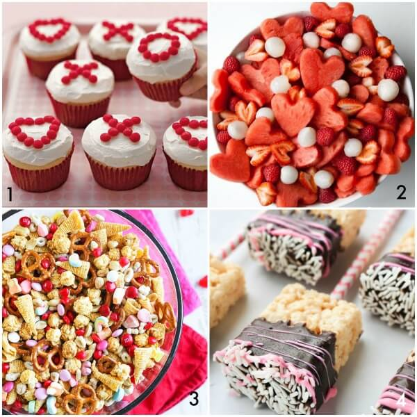 Valentine's Day party desserts plan