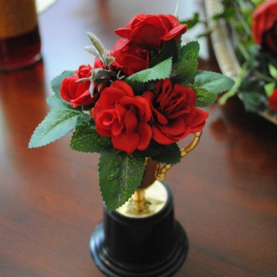 Tutorial: How to Make Mini Rose Loving Cups