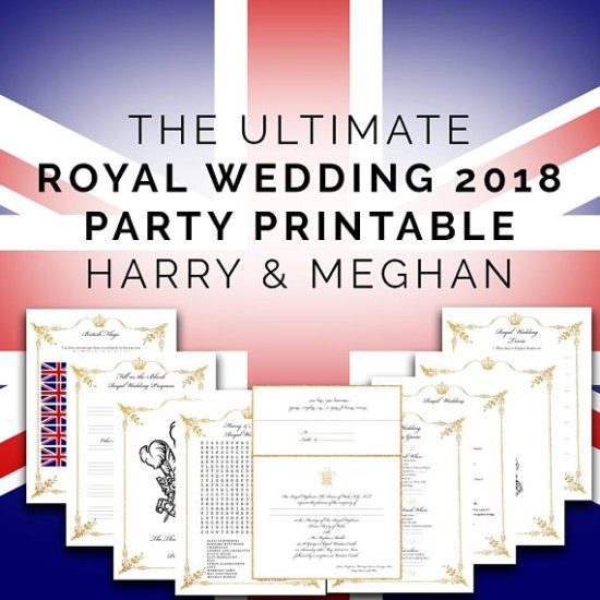 Royal Wedding Party - Power Within You - Printable Pack