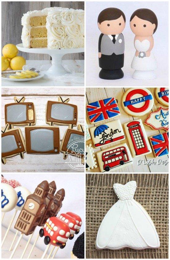 Royal Wedding Watch Party Dessert Ideas