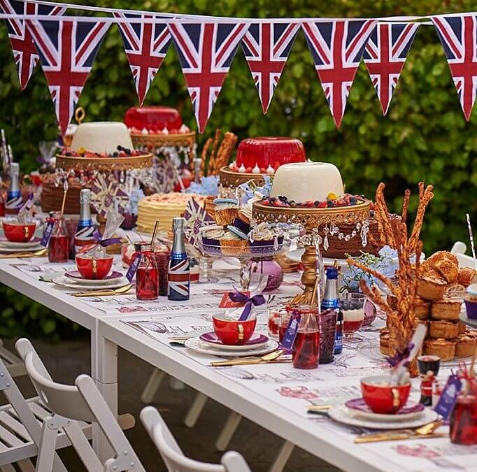 Royal Wedding Viewing Party Inspiration
