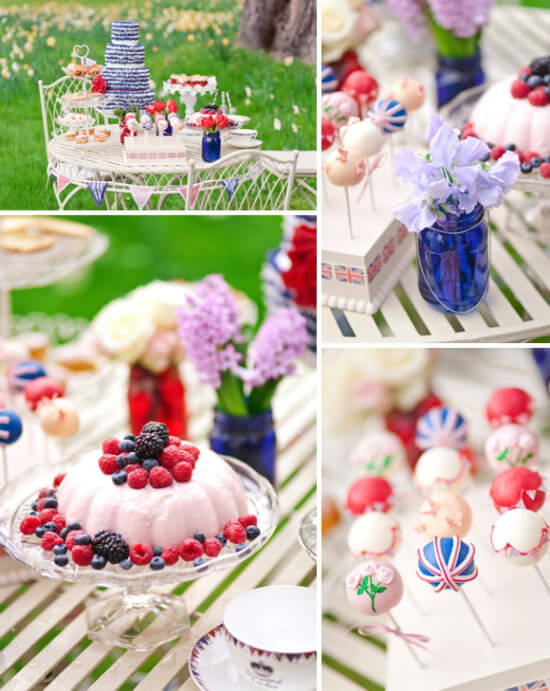 Cool Britannia English Rose Party by Love My Dress