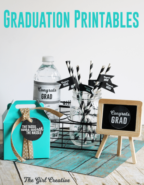 Free-Graduation-Printables by The Girl Creative