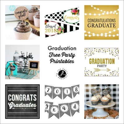 Freebie Friday: Free Graduation Party & Gift Printables