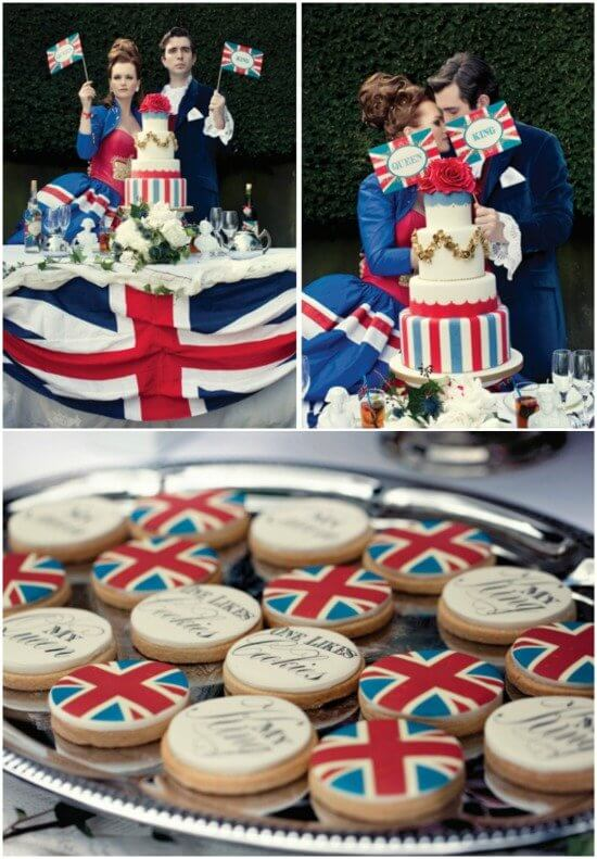 Right Royal Knees Up by Truly Madly Dottie via Love My Dress