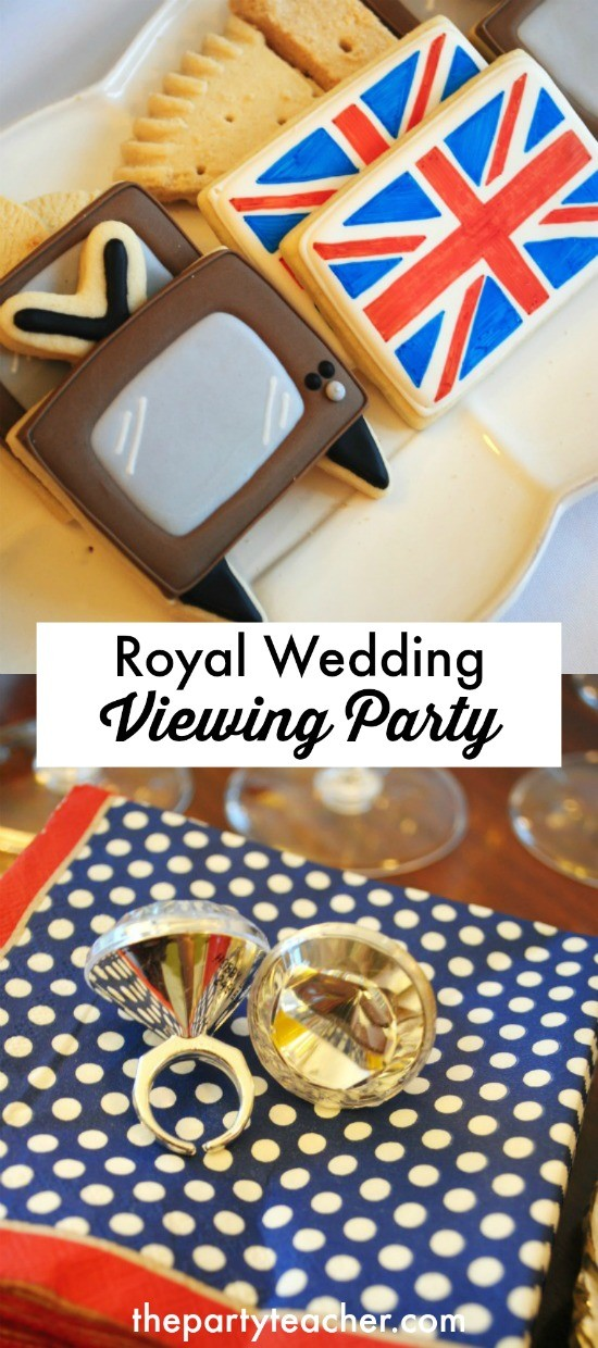 Royal Wedding Viewing Party by The Party Teacher