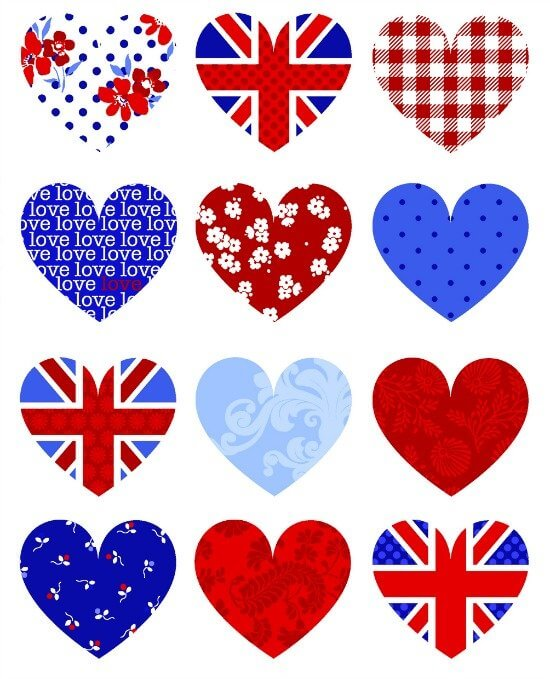 Royal wedding free printables by Hiccup Studio Designs