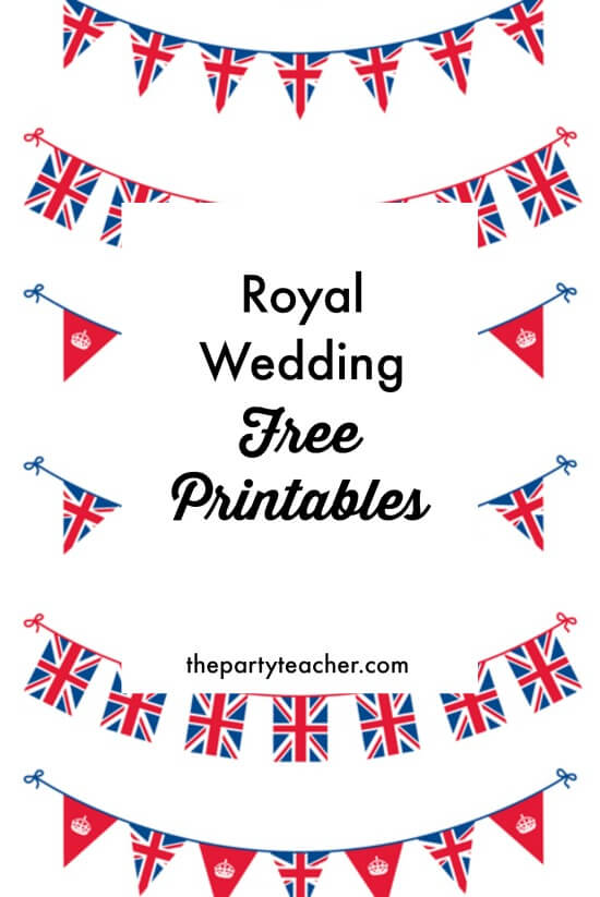 Freebie Friday Royal Wedding Viewing Party Free