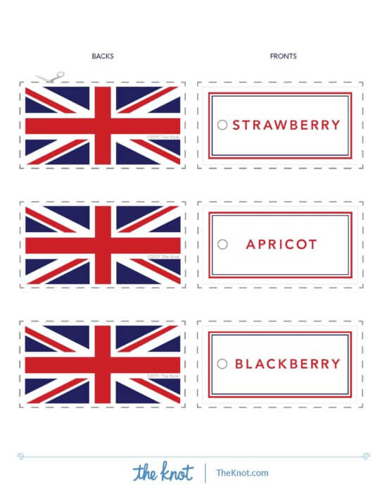 Royal wedding free food signs - The Knot_Page_1