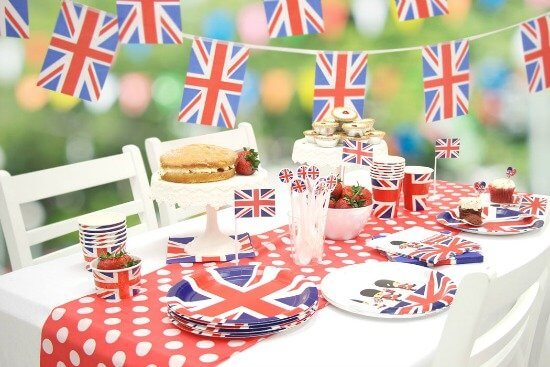 union-jack-party-ideas by Party Delights