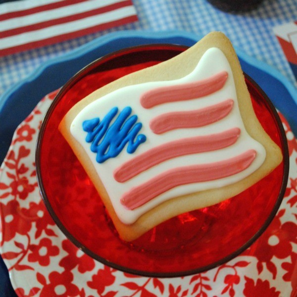 My Parties: How to Style a 4th of July Party Kids' Table