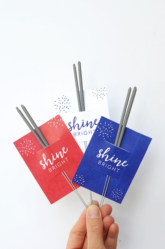 4th of July free sparkler holders by Alice and Lois for Minted