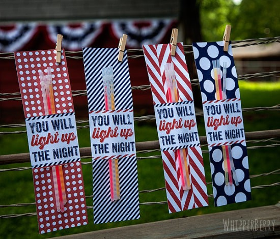 4th of July free sparkler holders by WhipperBerry
