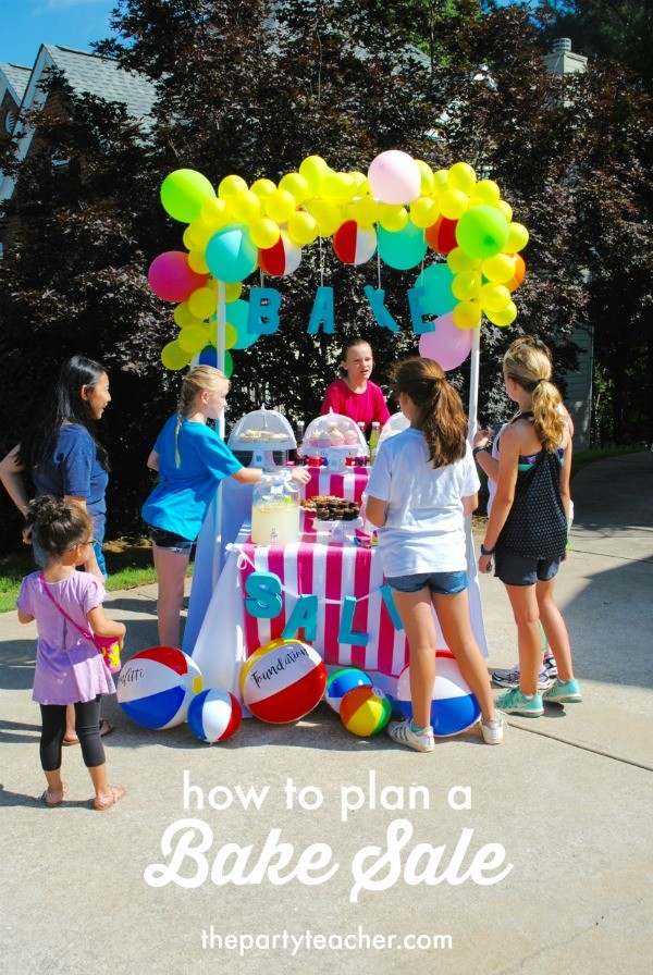How to plan a Beachy Bake Sale by The Party Teacher - 19