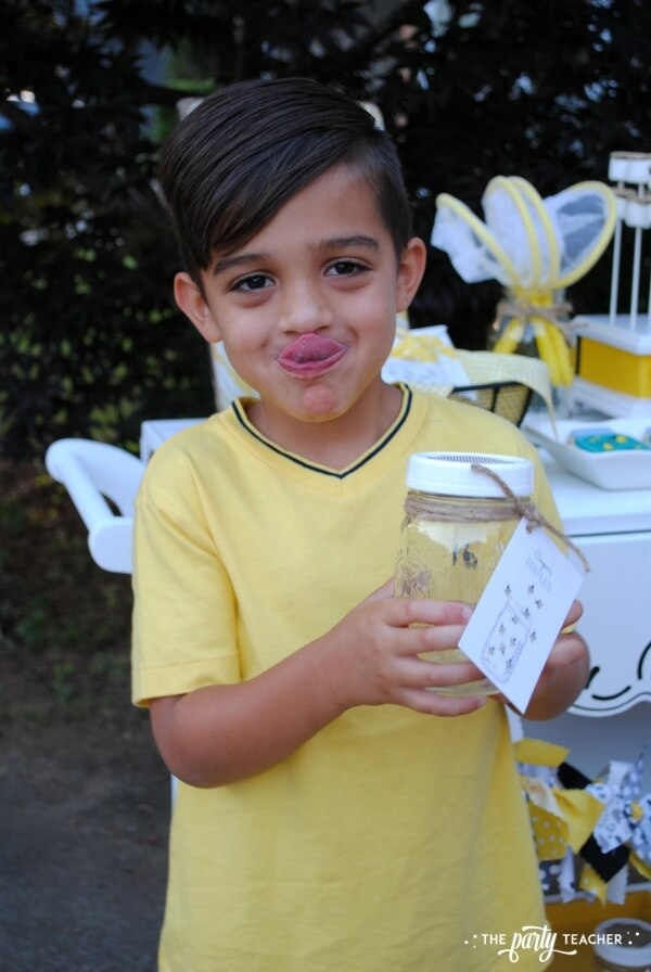 How to throw a Firefly Catching Party by The Party Teacher - firefly jar