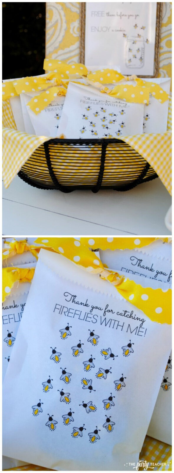 How to throw a Firefly Catching Party by The Party Teacher - party favors 2