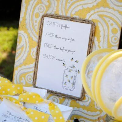 My Parties: Firefly Catching Party
