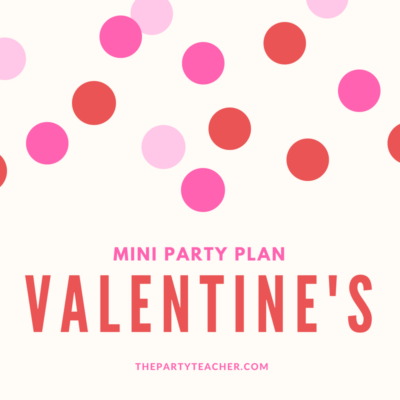 How to style a last-minute Valentine's Day party