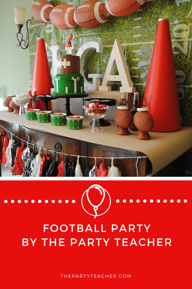 Game Day Dessert Table