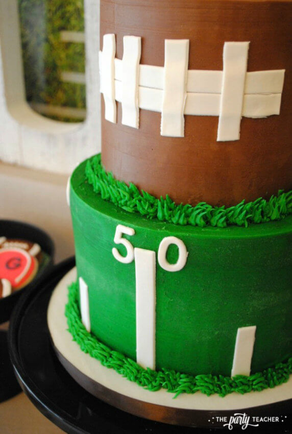Football Party by The Party Teacher - cake 19