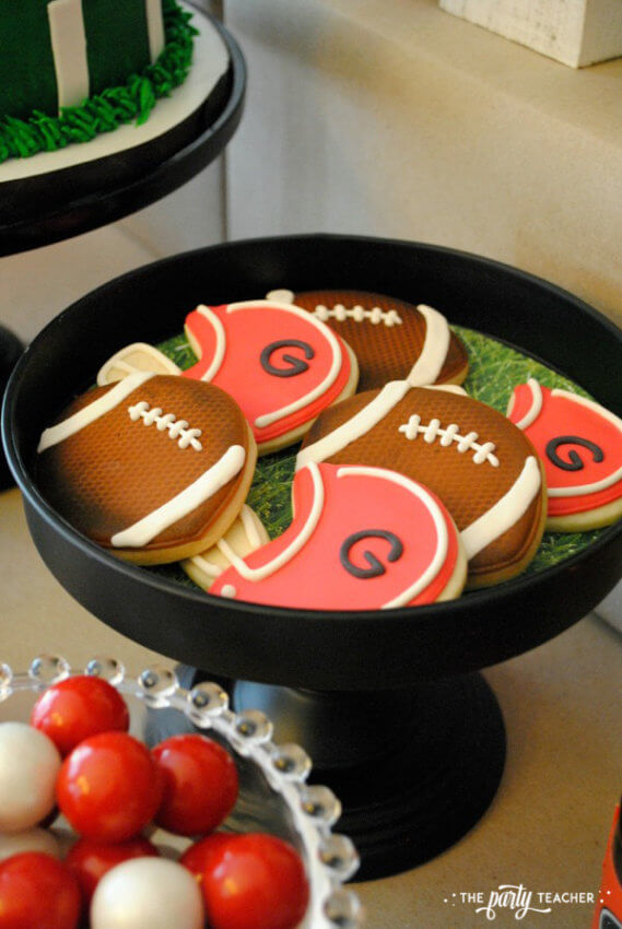 Football Party by The Party Teacher - cookies 10