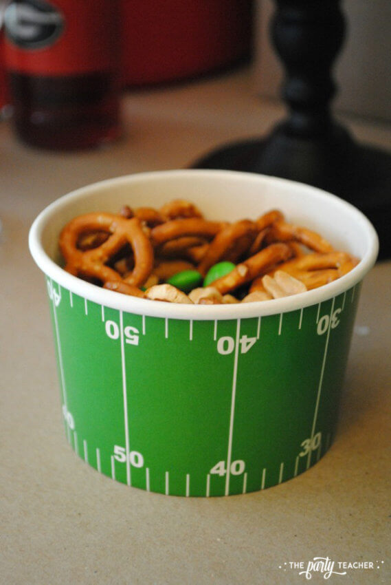 Football Party by The Party Teacher - gorp snack mix 7