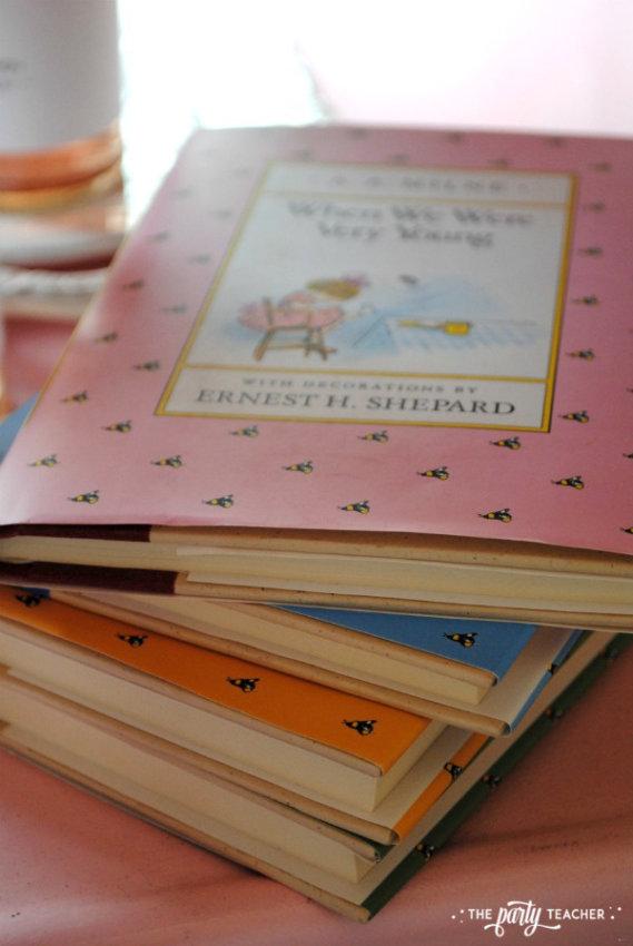 Teddy Bear Valentine's Bar Cart by The Party Teacher - Winnie the Pooh books