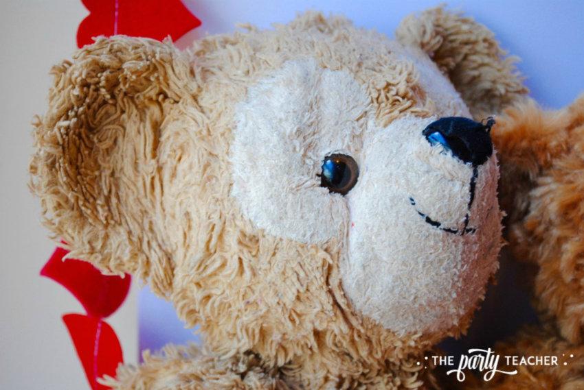 Teddy Bear Valentine's Bar Cart by The Party Teacher - teddy bear