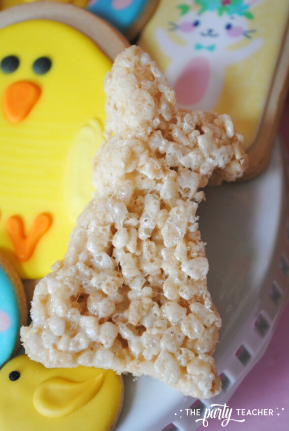 Easter Bar Cart by The Party Teacher - Rice Krispies Treats