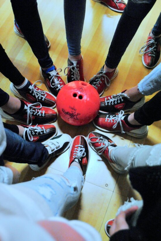 Teen Girl Bowling Party by The Party Teacher - bowling shoes