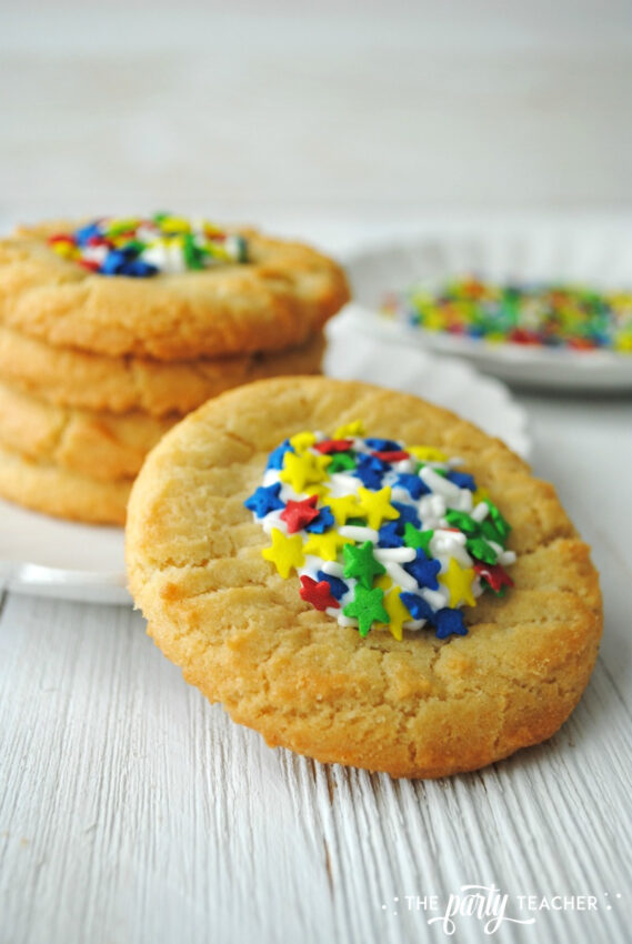 Sprinkle Sugar Cookies by The Party Teacher - 12