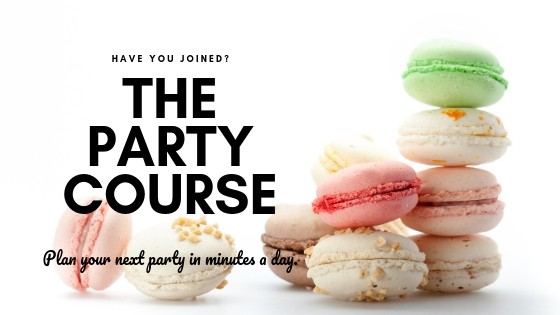 The Party Course TPT blog ad