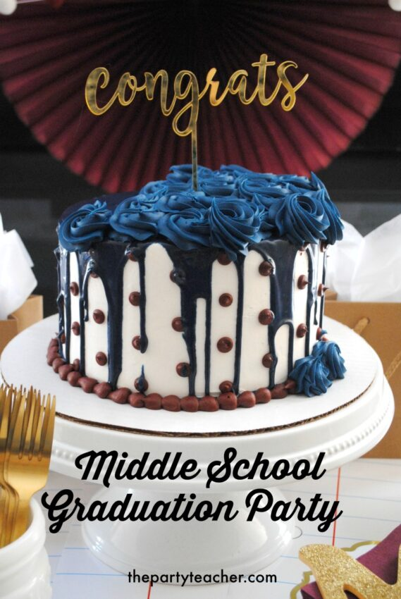 Middle School Graduation Party by The Party Teacher