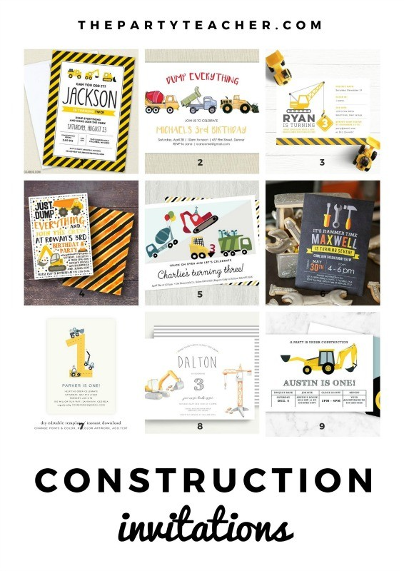 Mini-Party-Plan-Construction-Party-birthday-party-invitation-ideas-by-The-Party-Teacher