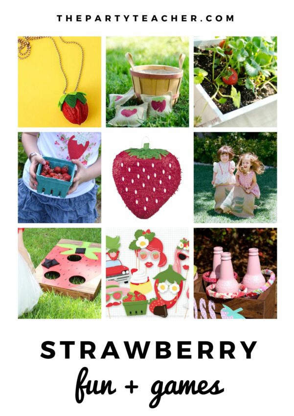 Mini Party Plan - Strawberry Party by The Party Teacher - fun and games