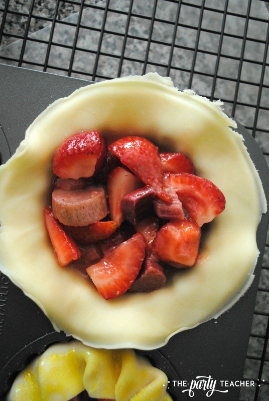 Rhubarb Strawberry Tarts by The Party Teacher - 15