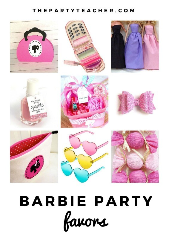 Mini Party Plan - Barbie Party Favors curated by The Party Teacher