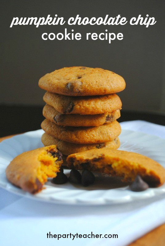 Pumpkin Chocolate Chip Cookie Recipe by The Party Teacher - 8